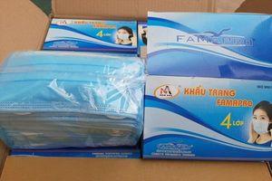 Hưng Yên tịch thu 6.500 khẩu trang không nhãn mác