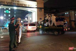 Tối nay, phun tiêu độc toàn bộ không gian Bệnh viện Bạch Mai