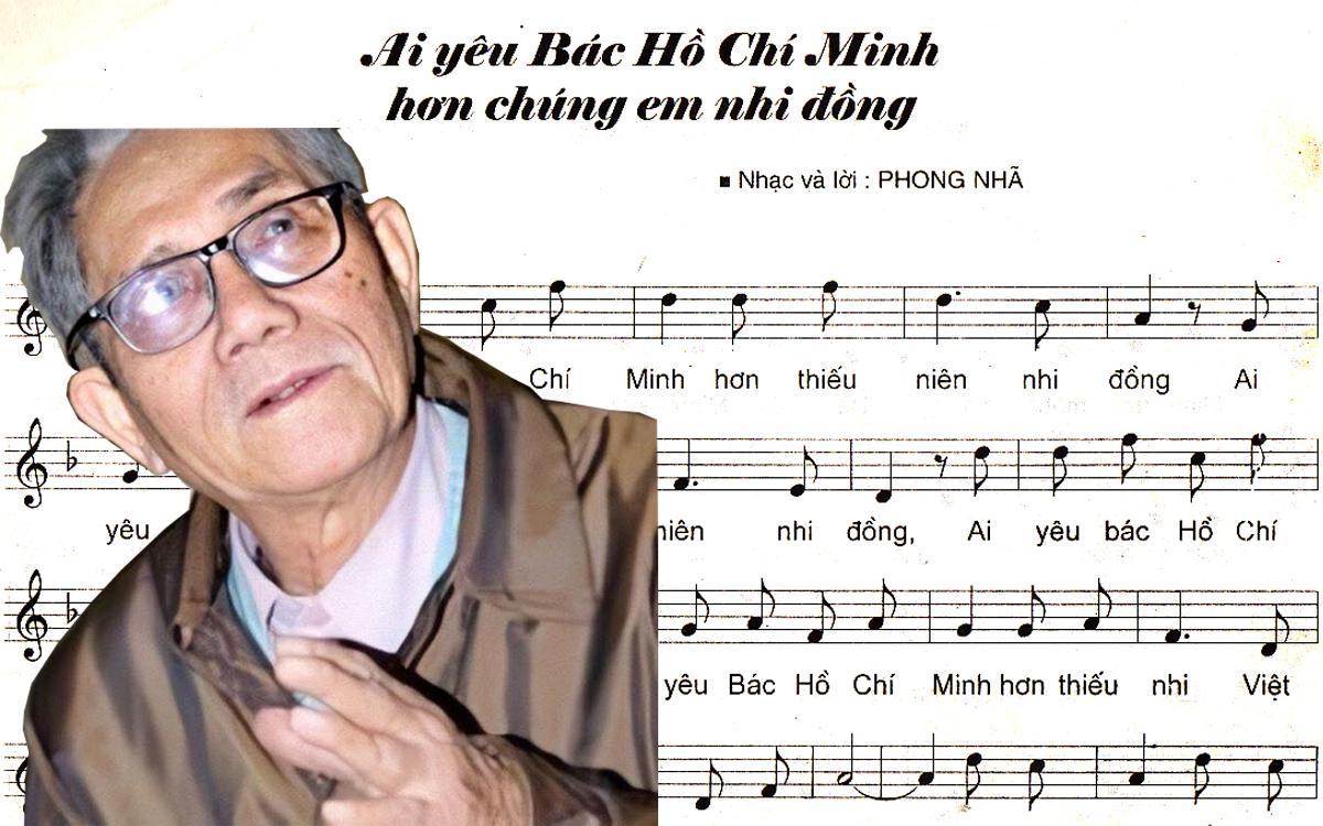 Nhạc sĩ Phong Nhã - 'cha đẻ' ca khúc 'Ai yêu Bác Hồ Chí Minh hơn chúng em nhi đồng' qua đời