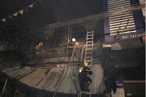 Hà Tĩnh: 2 ông cháu tử trong vụ cháy cửa hàng thiết bị ô tô