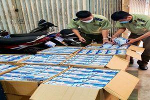An Giang: Tạm giữ 22.500 cái khẩu trang không rõ nguồn gốc