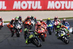 Hoãn tổ chức Moto GP do đại dịch Covid-19, các tay đua 'cạnh tranh' trên đường đua ảo