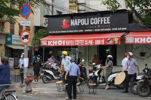 Phớt lờ lệnh cấm, quán cà phê ở TP.HCM vẫn mở cửa phục vụ khách tại chỗ