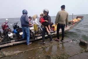 Bến đò ngang Vĩnh Tu - Cồn Tộc: Phát hiện chủ đò chở khách 'chui'