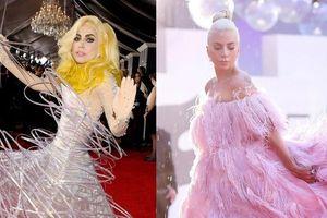 Váy thịt bò và những bộ cánh ấn tượng nhất trên thảm đỏ của Lady Gaga