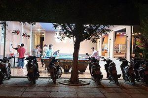 Nhiều quán nhậu ở TP Rạch Giá vẫn 'vô tư' hoạt động sau lệnh cấm