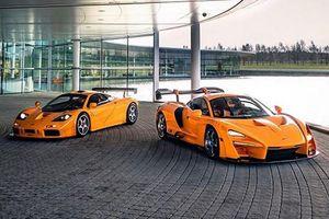 Ngắm McLaren Senna LM 'đọ dáng' huyền thoại McLaren F1 LM