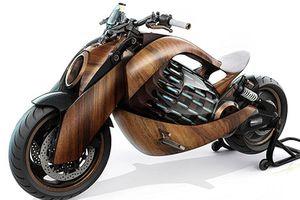 Newron EV-1 - siêu môtô điện thân gỗ hơn 1,55 tỷ đồng