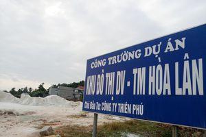 Cận cảnh khu đất khiến lãnh đạo Cty Thiên Phú bị bắt