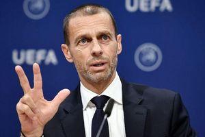 Chủ tịch UEFA thừa nhận khả năng hủy bỏ mùa giải vì COVID-19
