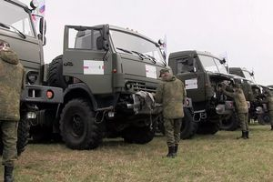 Video quân đội Nga tiến vào phun thuốc khử trùng tại 'tâm dịch' nước Ý