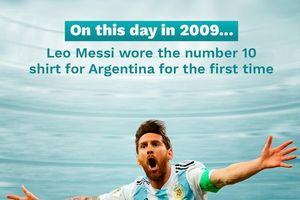 Ảnh chế: 11 năm đẫm nước mắt của số 10 Messi trong mầu áo Argentina