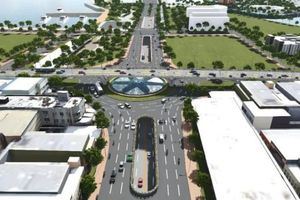 Đà Nẵng khởi công nút giao thông phía tây cầu Trần Thị Lý