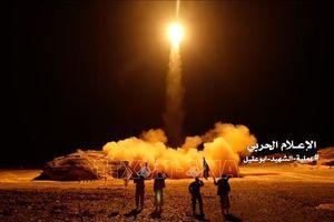 Nhóm Houthi ở Yemen phóng rocket nhằm vào các cơ sở của Saudi Arabia