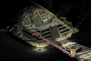 Bí ẩn về 'con sông' thủy ngân bên dưới kim tự tháp của người Maya