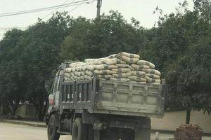 Bị phạt nặng, xe quá tải vẫn 'vô tư' tung hoành tại Thanh Hóa