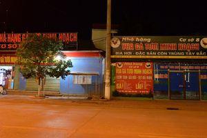Hàng trăm cơ sở kinh doanh ở thành phố Sơn La thực hiện đóng cửa