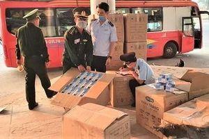 64.700 khẩu trang y tế bị bắt giữ tại Quảng Trị được sử dụng để phòng chống dịch