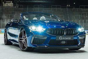 BMW M8 mui trần bản nâng cấp mạnh hơn cả siêu xe Lamborghini Aventador