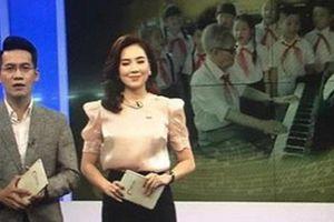MC Mai Ngọc bị chỉ trích vì biểu cảm tươi cười khi báo tin cố nhạc sĩ Phong Nhã qua đời trên sóng truyền hình