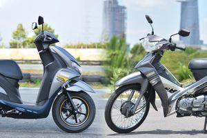 5 mẫu xe máy phù hợp chạy xe ôm công nghệ - tiết kiệm xăng, giá rẻ