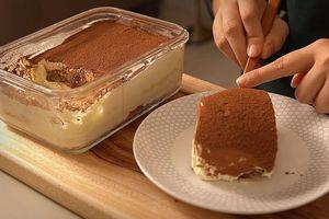 Mẹo làm bánh kem tiramisu không cần lò nướng