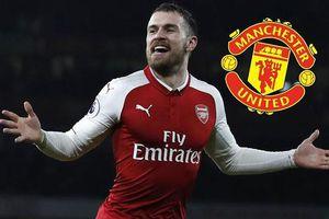 Ramsey có thể gia nhập MU ở kỳ chuyển nhượng mùa hè