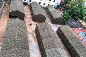 Cận cảnh Bệnh viện dã chiến tại Bệnh viện Bạch Mai