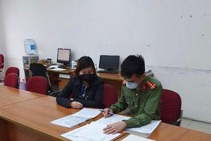 Phạt 10 triệu đồng người phụ nữ tung tin sai về 4 người nhiễm Covid-19 ở Long Biên