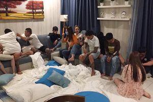 Hàng chục nam nữ thuê căn hộ ven biển để 'thác loạn' ma túy