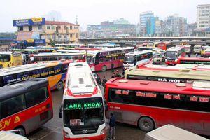 Từ hôm nay, tàu xe chở khách đến Hà Nội, TP.HCM không quá 2 chuyến/ngày