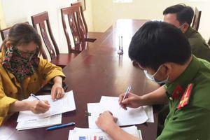 Nghệ An: Triệu tập người phụ nữ đăng tin giả để… bán cá
