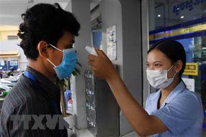 Campuchia có thêm 4 ca nhiễm mới, nâng tổng số lên 107 người