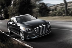 Hyundai 'trình làng' 3 phiên bản mới mẫu Genesis G80 tại Hàn Quốc