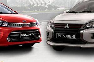 Cùng rẻ nhất phân khúc, mua Mitsubishi Attrage CVT 2020 hay KIA Soluto AT?