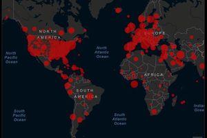 Châu Âu và Mỹ tiếp tục là các tâm dịch Covid-19 lớn của thế giới