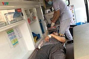 Nam thanh niên ở Đà Nẵng bị tàu hỏa cán lìa tay