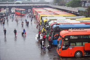 Hà Nội quy định giờ xuất bến của xe khách đi các tỉnh, thành