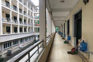 Cận cảnh bên trong khu cách ly tập trung Trung tâm Giáo dục Quốc phòng và An ninh, Đại học Quốc gia Hà Nội