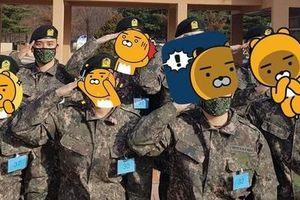 Seungri là trung đội trưởng sau khi nhập ngũ