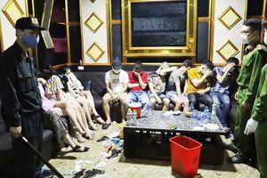 Khởi tố nhóm tổ chức tiệc ma túy giữa lúc dịch bệnh