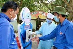 Máy rửa tay hạn chế lây nhiễm, phòng dịch Covid-19 của kỹ sư trẻ ở Quảng Ngãi