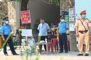 Quảng Nam lập tám chốt kiểm soát, phòng chống dịch Covid-19