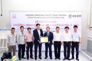 Bài toán đào tạo nhân lực ngành công nghiệp ôtô Việt Nam