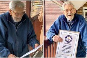 Sửng sốt với tuổi của người người đàn ông già nhất thế giới
