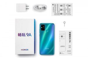 Honor 9A ra mắt: pin 5.000mAh, sạc ngược không dây giá 126 USD