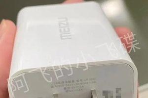 Bộ sạc có dây Meizu 17 30W xuất hiện trong một ảnh render