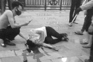 Bắt 6 nghi phạm trong vụ chém người trên phố đi bộ Tam Bạc