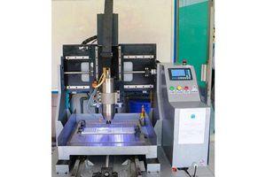 Trường đại học Trà Vinh chế tạo máy phay CNC 3 trục