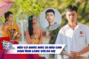 Xúc động cảm ơn bố mẹ, nam sinh lớp 10 khiến Phương Mỹ Chi trầm trồ vì mái tóc 'bắt trend' Itaewon Class